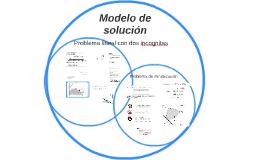 Modelo de resolución