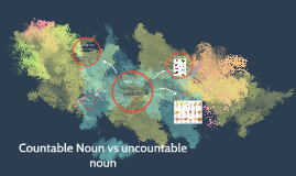 Countable Noun vs uncountable noun
