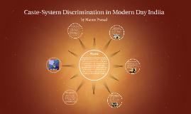 Indian Caste System Discrimination