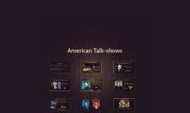 American Talk-shows