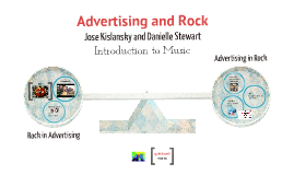 Advertising and Rock Jose Danielle