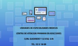 Copy of Centro de Atencion Primaria en Adicciones