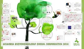 Copy of Memoria de RSC 2014 Ideas Medioambientales
