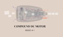 COMPOUND DC MOTOR