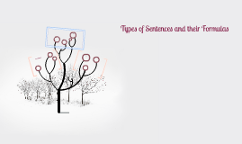 Types of Sentences and their Formulas of use