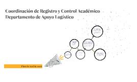 Coordinación de Registro y Control Académico