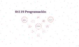 04119 Programación