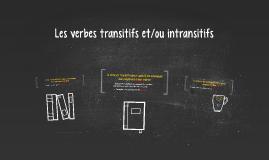 Les verbes transitifs et/ou intransitifs