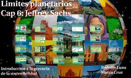 Limites ambientales planetarios.