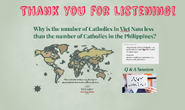 The Catholic Church in Viet Nam and the Philippines