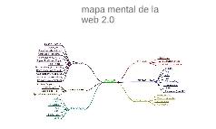 Mapa mental de la web 2.0