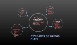 Atividades de Gestao - DIASI