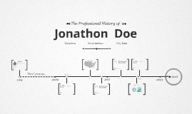 Timeline Prezumé by Tom Paterson