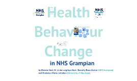 Health Behaviour Change in NHS Grampian