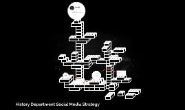 History Department Social Media Strategy