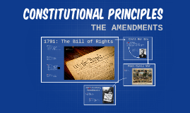 Constitutional Principles (part 2)