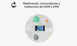 Replicación, transcripción y traducción del ADN y ARN