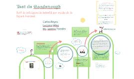 Copy of Test de Goodenough