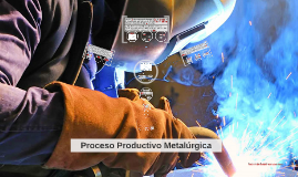 Copy of Proceso Productivo Metalúrgica