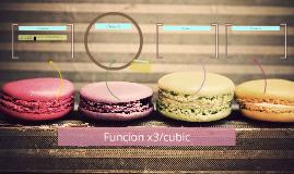 Funcion x3/cubic