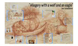 Copy of Allegory with a wolf and an eagle