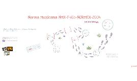 Copy of Norma Mexicana NMX-F-605-NORMEX-2004