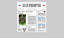 KILLER HYMENOPTERA
