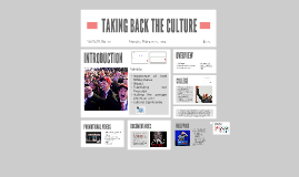 PV 2017: Taking Back The Culture