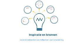 Copy of Inspiratie en bronnen Lerende netwerken