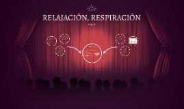 RELAJACION, RESPIRACION Y LA EMISION - ARTICULACION