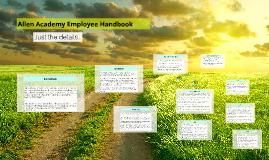 2013-2014 Employee Handbook