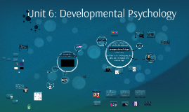 Unit 9: Developmental Psychology
