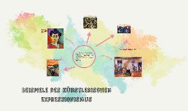 Beispiele des künstlerichen Expressionismus'