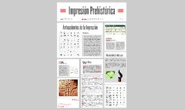 Impresión Prehistórica
