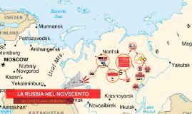 LA RUSSIA NEL NOVECENTO