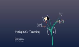 Sample Co-Teaching Presentation