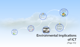 Environmental Implications of ICT