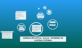 DICTAMENES NORMAS RELATIVAS- INFORMES DE CONTROL INTERNO