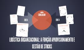 Copy of LOGÍSTICA ORGANIZACIONAL: A FUNÇÃO APROVISIONAMENTO E GESTÃO