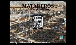 MATADEROS