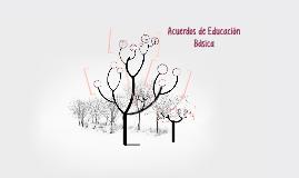 Acuerdos de Educación Básica