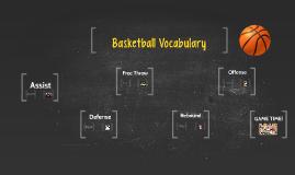 Basketball Vocabulary