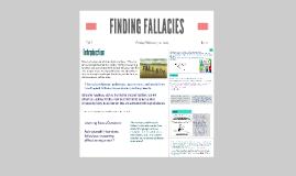 Comic FINDING FALLACIES