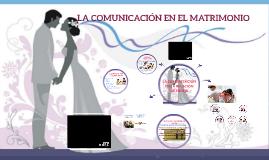 Copy of LA COMUNICACION EN EL MATRIMONIO