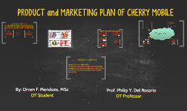 Copy of MARKETING PLAN OF CHERRY MOBILE