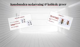 Kønsbunden nedarvning & koblede gener