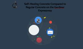 Self-Healing Concrete Compared to Regular Concrete on the Ga