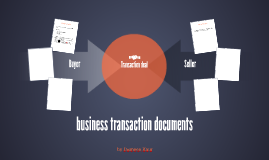 business transaction documents