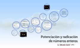 Copy of Potenciación y radicación de números enteros
