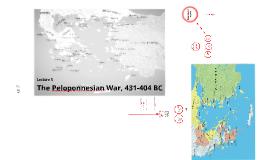 The Peloponnesian War (2014/15)